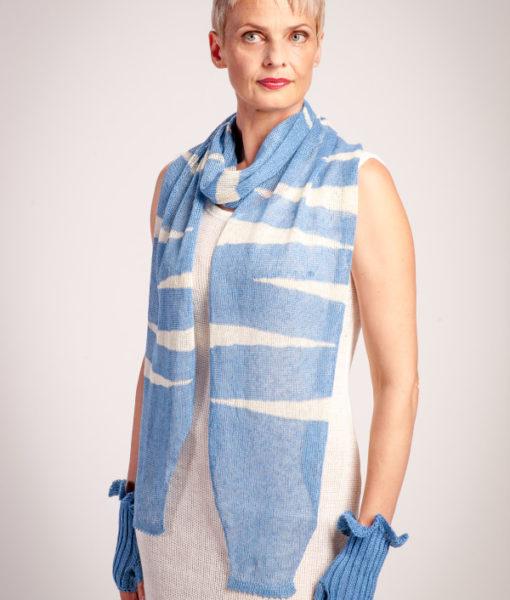 Linen-zebra-scarf-Tines-knitwear-1 (2)