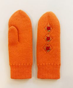 Double felted mitts