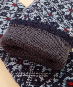Mittens with lining